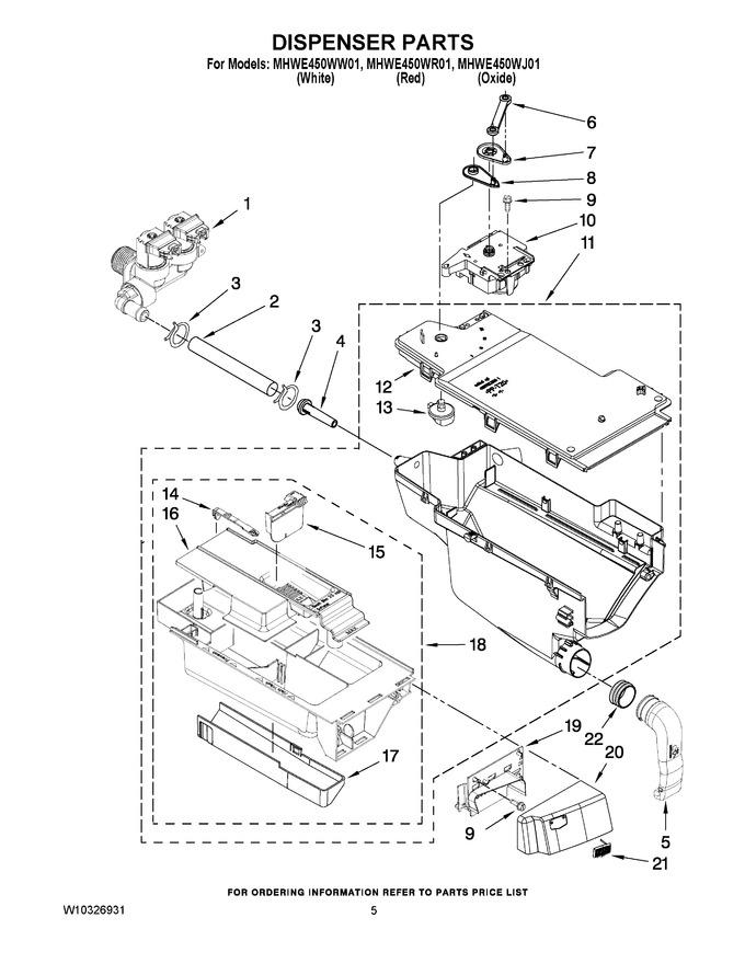 Diagram for MHWE450WW01