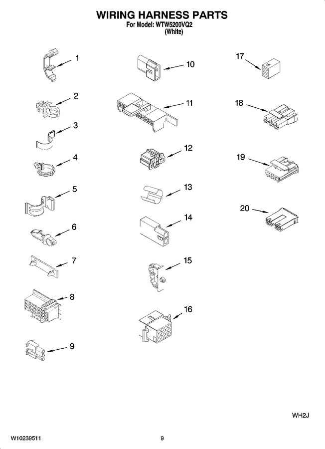 Excellent Wtw5200Vq2 Appliance Parts Company Appliance Model Lookup Wiring 101 Picalhutpaaxxcnl