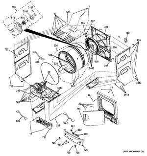 Part We4m137 Mid America Appliance Parts Center